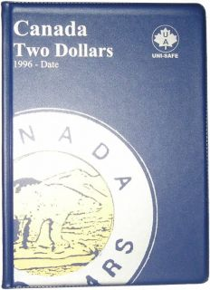 $2.00 Canada Uni-Safe Album (Two Dollars) 1996-Date