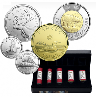 2017 - Classic Canadian Coin Special Wrap Roll Collection