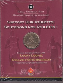 2004 Lucky Loonie Special Edition Uncirculated -  Dollar