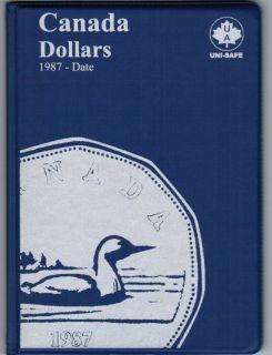 $1.00 Canada Uni-Safe Album (Dollars) 1987-Date