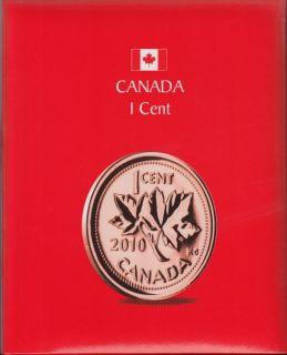 KASKADE Canadian Coin Albums - 1 Cent