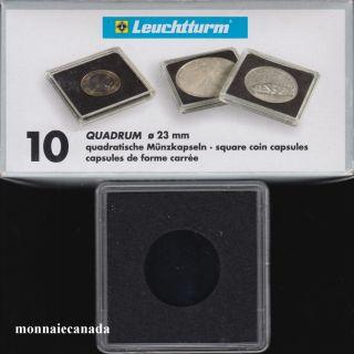 Capsules QUADRUM 23 MM