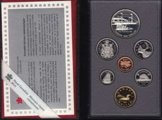 1991 CANADA DOUBLE DOLLAR PROOF SET