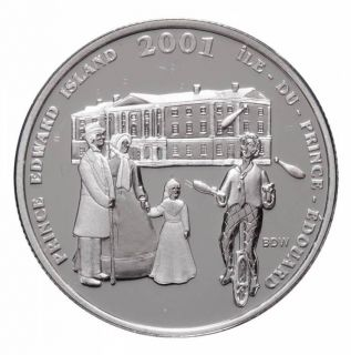 2001 Canada 50 Cents Sterling Silver - Festival of the Fathers - Prince Edward Island