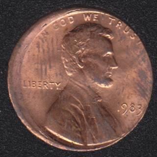 1983 - Off Center - U.S. Cent
