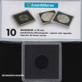 Capsules QUADRUM 18 MM