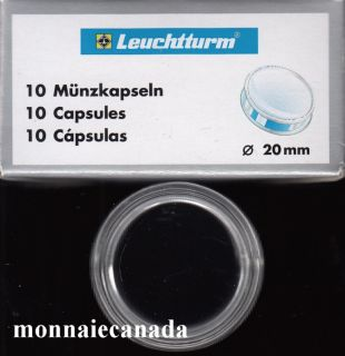 COIN CAPSULES 20MM