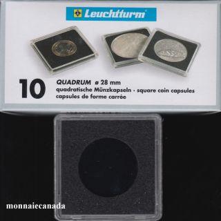 Capsules QUADRUM 28 MM