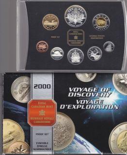 2000 CANADA DOUBLE DOLLAR PROOF SET