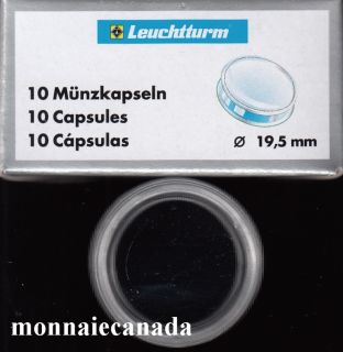 COIN CAPSULES 19,5MM
