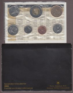 2005 ENSEMBLE HORS-CIRCULATION PL Set Special Alberta et Saskatchewan