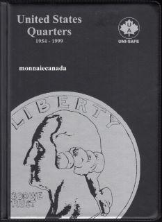 US Coins Album 25 Cents - 1954-1999