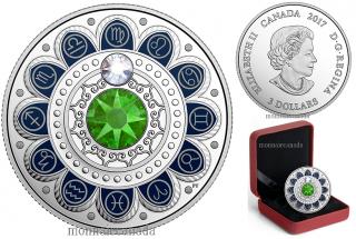 2017 - $3 - Pure Silver coin – Zodiac - Virgo