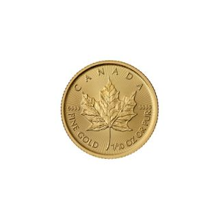 2015 - 1/10 oz Canadian Maple Leaf Gold Coin * PHONE ONLY *