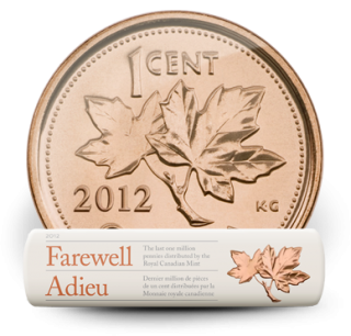 2012 Original Roll 1 cent - Farewell to the Penny Special Wrap