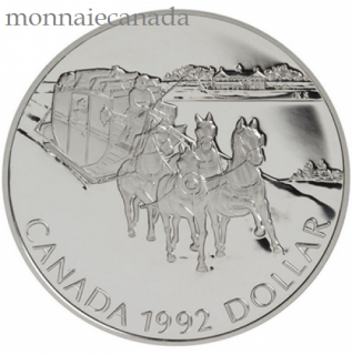 1992,SILVER DOLLAR PROOF