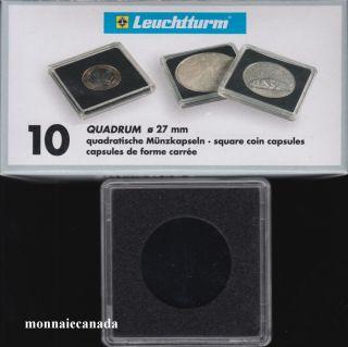 Capsules QUADRUM 27 MM