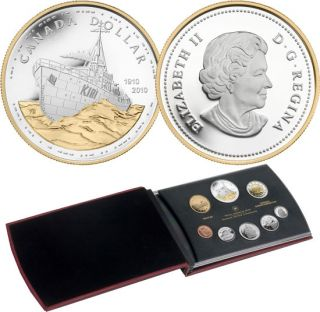 2010 Proof Set - 100th Ann. of the Canadian Navy