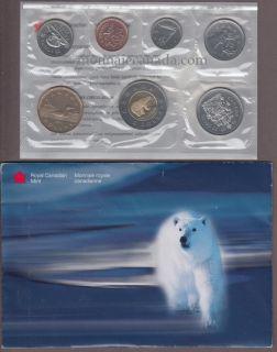 1999 POLAR BEAR BRILLIANT UNCIRCULATED SET