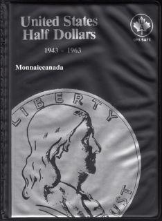 US Coins Album 50 Cents - 1943-1963