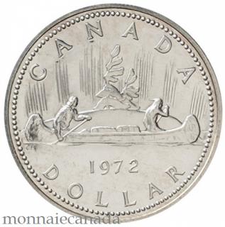 1972,SILVER DOLLAR SPECIMEN - Voyageur