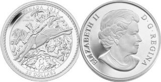 2012 - $50 -  5 oz Fine Silver Coin - 100 Years of the Calgary Stampede