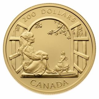 1999 - $200 - Gold 22 K Coin - Anne of Green Gables