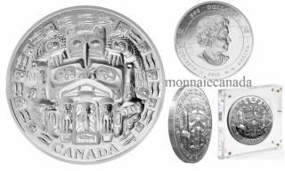 2015 - $500 - 5 kg Fine Silver Coin – The Dance Screen (The Scream Too)