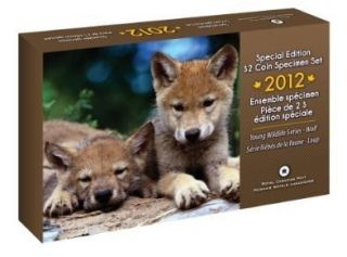 2012 Special Edition $2 Coin Specimen Set - Wolf Cubs