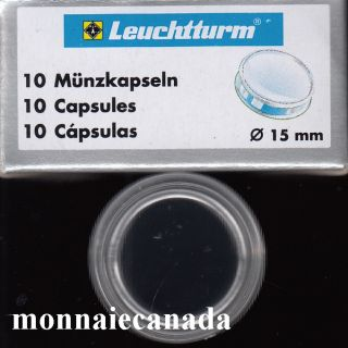 COIN CAPSULES 15MM
