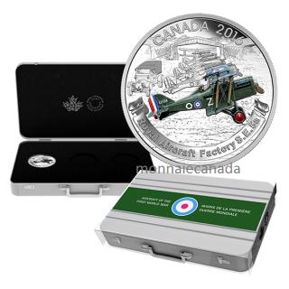 2016 - $20 - Fine Silver 3-Coin – Aircraft of First World War