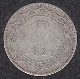 Newfoundland - 1896 - S '96' - 20 Cents