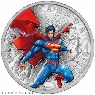 2014 - $20 - 1 oz. Fine Silver Coin - Iconic Superman™ Comic Book Covers: Superman Annual #1 2012