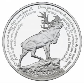 2006 - $30 - Sterling Silver Coin - Beaumont - Hamel Newfoundland Memorial