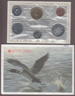 1993 BRILLIANT UNCIRCULATED SET