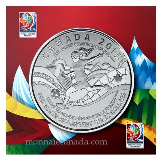 2015 - $20 for $20 - Fine Silver Coin – FIFA Women's World Cup Canada 2015™