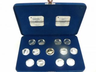 1992 Canada 25 Cents Sterling Silver 125th Anniv. Coin Set