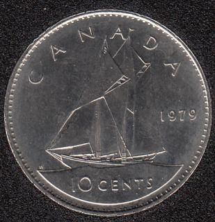 1979 - 10 CENTS BU