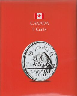 KASKADE Canadian Coin Albums - 5 Cents