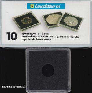 Capsules QUADRUM 15 MM