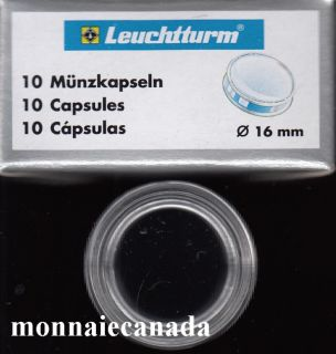 COIN CAPSULES 16 MM