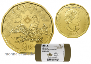 2016 - 1$ - Lucky Loonie Special Wrap Roll