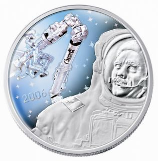 2006 $30 Sterling Silver  - Canadarm