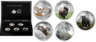 2016 - Majestic Animal 5-Coin Subscription Set