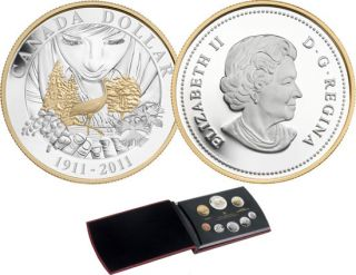 2011 - Proof Set - 100th Anniversary of Parks Canada