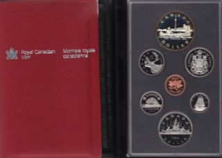 1984 CANADA DOUBLE DOLLAR PROOF SET