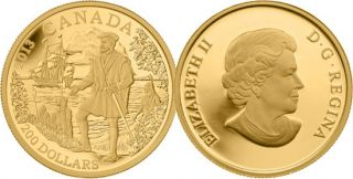 2013 - $200 - Fine Gold Coin - Jacques Cartier