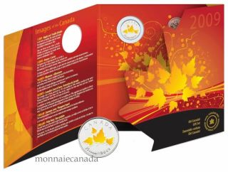 2009 Oh Canada - 25 Cent Coloured Coin Gift Set
