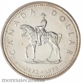 1973 DOLLAR EN ARGENT SPECIMEN