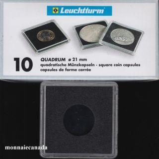 Capsules QUADRUM 21 MM